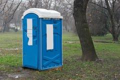 Mobiele WC Royalty-vrije Stock Afbeeldingen