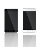Mobiele Zwart-witte reeks Stock Afbeelding