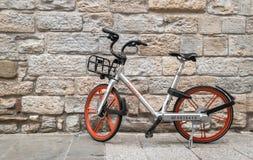 Mobike bicycle stock image