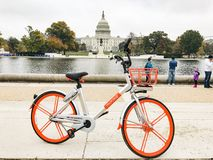 Mobike in Washington DC stock images
