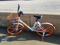Mobike in Washington DC Stock Photos