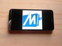 MobiKwik app stock afbeeldingen