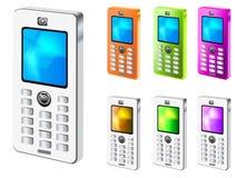 MOBIL电话 库存例证