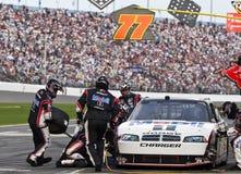 Mobil 1 arresto Daytona 500 del pozzo Fotografia Stock Libera da Diritti