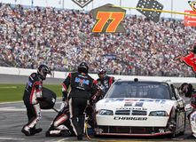 Mobil 1 Pit Stop Daytona 500 Royalty Free Stock Photography