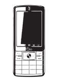 mobil Royaltyfri Bild