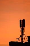 Mobil antenn Fotografering för Bildbyråer