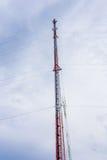 Mobil antenn Arkivbilder