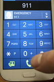 Mobil appell Royaltyfri Bild