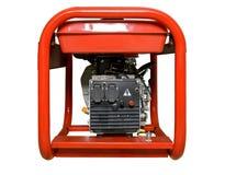 Mobil, bärbar diesel eller bensingenerator med ett element, med fjärrkontroll Royaltyfri Fotografi
