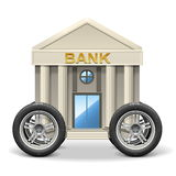 Mobil bank för vektor Royaltyfri Fotografi