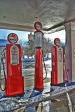 Mobil Benzynowe pompy 2 Zdjęcie Stock