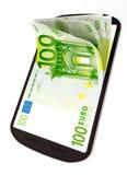 Mobil betalning Royaltyfri Foto