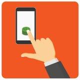 mobil betalning Arkivfoton