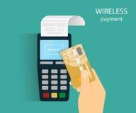 mobil betalning Royaltyfria Foton