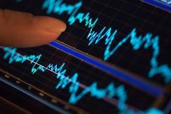 Mobil finans Arkivbild