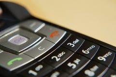 mobil gammal telefon royaltyfri bild