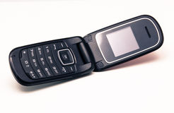 mobil gammal telefon Arkivfoto