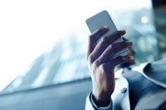 Mobil grej arkivfoto
