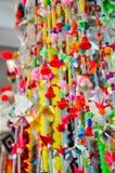 Mobil hängande girland Fotografering för Bildbyråer