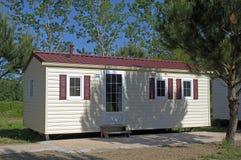 Mobil-home in a campsite Stock Photos
