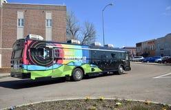 Mobil innovationlabb i Brownsville, Tennessee royaltyfri foto