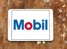 Mobil logo Fotografia Stock