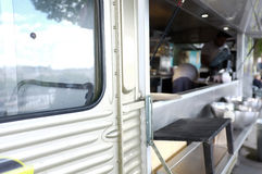 Mobil matlastbil Fotografering för Bildbyråer