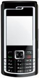 Mobil mobiltelefonmobiltelefonvektor Fotografering för Bildbyråer