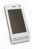mobil modern touch för pdatelefonskärm Fotografering för Bildbyråer