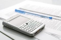 mobil organisatörpenna för dator Royaltyfria Foton