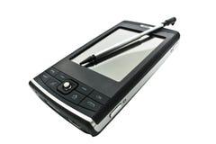 mobil pdatelefon Fotografering för Bildbyråer