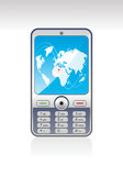 Mobil Phone 1. Illustration and Painting Mobil Phone Royalty Free Stock Images