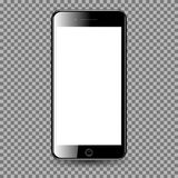 Mobil Phone with blank screen. vector illustration