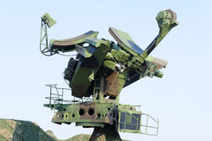 Mobil radar Arkivbild