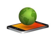 Mobil rufen an Lizenzfreie Stockfotografie