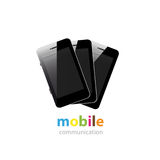 mobil smartphone Arkivbilder