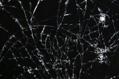 Mobil smartphonecloseup för bruten skärm Fotografering för Bildbyråer