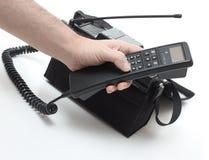 mobil tappning Fotografering för Bildbyråer