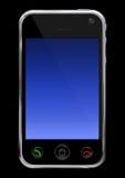 mobil telefon stock illustrationer