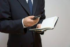mobil telefon Fotografering för Bildbyråer