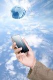 mobil telefon Royaltyfri Bild