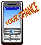 Mobil-Telefon Benennen Stockfotos