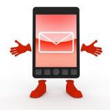mobil telefonsmartphone för post Arkivfoto