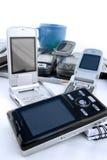 mobil värld Arkivfoto