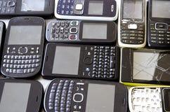 mobila gammala telefoner Royaltyfri Foto
