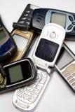 mobila gammala telefoner ii Arkivfoto