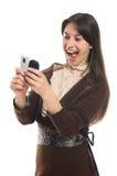 mobila meddelanden Royaltyfri Bild