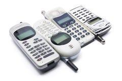 mobila telefoner Arkivfoto