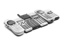 mobila telefoner Arkivbilder